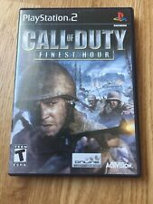 Call Of Duty Finest Hour PS2 Sony PlayStation 2 Cib Game XP1