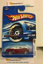 '69 Camaro #21 * RED w/PR5 Rims * 2006 Hot Wheels * E21