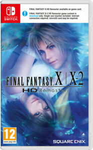 Final Fantasy X/ X-2 HD Remaster For Nintendo Switch BRAND NEW SEALED