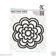 X cut 5 PC nidification dies fleurs Bloom Utiliser Xcut, Sizzix, Big Shot Machines