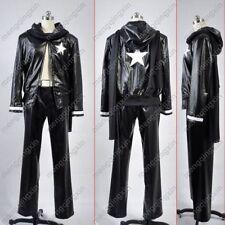 Black Rock Shooter Black Gold Saw man Cosplay Costume Custom Any Size