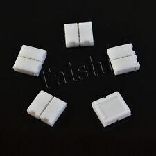 5x LED SMD RGB Schnell Verbinder Adapter 4 Pin Stecker Kabel Strip Licht Leiste