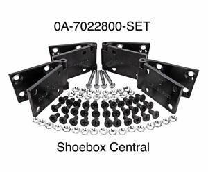 1949 1950 1951 Ford Shoebox Door Hinge Kit Complete