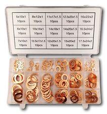 150tlg kupferdichtringe Kupferringe sortiment kupferscheiben Dichtringe Set