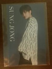 Infinite f sungjong  japan JP official Photocard  Kpop K-pop +  freebies