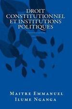 Droit Constitutionnel et Institutions Politiques : République démocratique du...