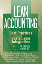 Lean Accounting : Best Practices for Sustainable Integration by Joe Stenzel...