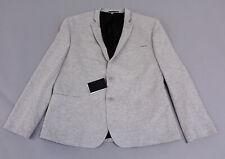 Asos Men's Basic Solid Super Skinny Blazer KB8 Gray Size 50 NWT