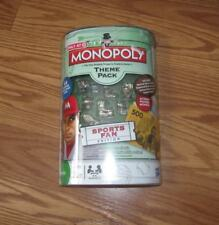 NIP Monopoly game board Game Pieces Theme Pack Sports Fan Edition NEW