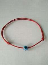2x RED STRING KABBALAH BRACELETS AGAINS EVIL EYE FOR SUCCESS
