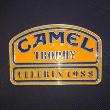 CAMEL TROPHY CELEBES 1988 VINTAGE LAND ROVER BADGE DEFENDER FOR SALE 4X4