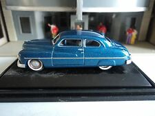 Oxford  1949  Mercury    Teal Blue     1/87   HO   diecast car