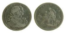 106) NAPOLI  Ferdinando IV - 120 grana piastra 1772 FECUNDITAS