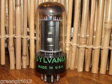 Vintage Sylvania 6F6 GT Radio Tube Results= 72