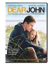 Dear John  DVD Channing Tatum, Amanda Seyfried, Richard Jenkins, Henry Thomas, D