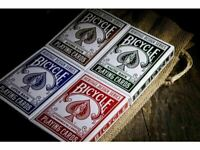 4 DECKS BICYCLE HERITAGE SERIES SET - PLAYING CARDS