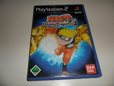 Playstation 2 ps 2 NARUTO-uzumaki chronicles 2 (2)