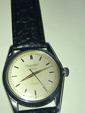 Scarce Vintage 1950s SS IWC cal. 852 Automatic w/ TÜRLER/IWC Dial