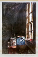 Andrew Wyeth Pencil Signed Print [Cranberries] Lot 450
