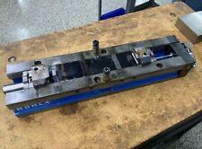 Hdhl4 Kurt 4 Double Station Hydraulic Machine Vise Horizontal Stationary Used