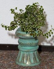 Blumensäule Holz Blumenständer mediterraner Stil Blumentisch BLST06