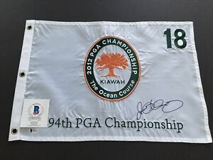 Rory Mcilroy Signed 2012 PGA Championship Embroidered Golf Flag, BAS Cert.!