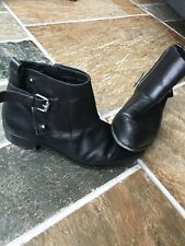 Karen Millen Ladies Black Ankle Boots Size 6