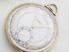 Agassiz 10K gold filled  pocket watch 225