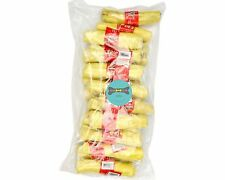 """Pet Dog Food Natural Rawhide Retriever Roll  6"""" CHICKEN 20 PACK"""
