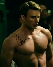 Chris Evans 8x10 autographed Picture signed Photo COA included