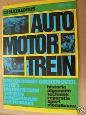 1988-1989 AUTO MOTOR TREIN KATALOGUS AUTOBOEK INTERNATIONAL DEVENTER