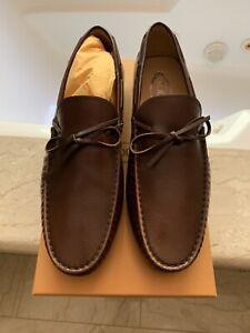 Tod's City Gommino Full-Grain Leather Driving Shoes UK 10. Brand New Mr. Porter