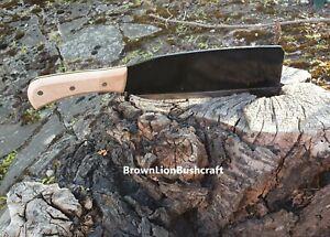 STICK CHOPPER KINDLING AXE BILLHOOK LONG STRAIGHT 245MM BLADE STEEL QUALITY TOOL