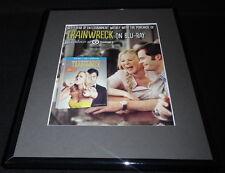Trainwreck 2015 Framed 11x14 ORIGINAL Advertisement Amy Schumer Bill Hader