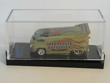 2012 HW HOT WHEELS Limited Edition INTERSTATE BATTERIES Drag Bus Real Riders