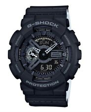 Casio G Shock * GA110LP-1A Anadigi Punching Pattern Black COD PayPal #crzyj