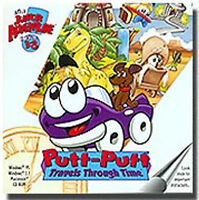 Putt Putt Travels Through Time  Humongous Entertainment  New in Jewel Case