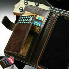 For Samsung S20 Ultra S10 S8 S9 Note 10 Plus Leather Flip Wallet Card Case Cover