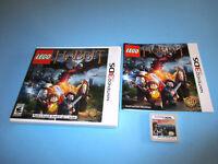 LEGO The Hobbit (Nintendo 3DS) XL Game w/Case & Manual