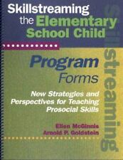 (Out of Print)Skillstreaming the Elementary School Child: Program Forms (Book an