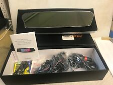 "TOGAURD CE35 FHD 1080P Dash Camera 7"" Touch Screen Car Rearview Mirror DVR 2 Cam"