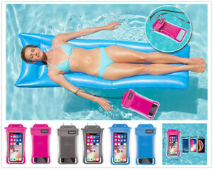2 Pack Waterproof Cell Phone Pouch Swim Dry Bag Case Cover For iPhone Samsung