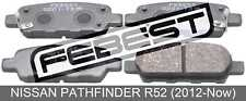 Pad Kit, Disc Brake, Rear For Nissan Pathfinder R52 (2012-Now)