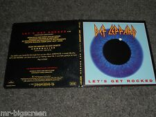 DEF LEPPARD - LET'S GET ROCKED - CD SINGLE - 1992
