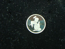 Angel Praying  1 Gram .999 Pure Silver Round Coin Bar Church or  Religious Gift