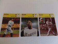 1977 Edition Recontre SA Lausanne Rare Vintage Baseball Cards- Babe Ruth +