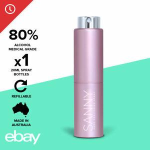 SANNY Luxury Travel Hand Sanitiser Spray 80% Ethanol Alcohol Australian Made