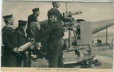 Italy Navy Artillery old postcard