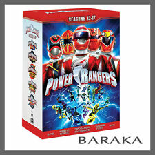 Mighty Morphin Power Rangers Season Series 13 14 15 16 & 17  DVD Box Set 13 - 17