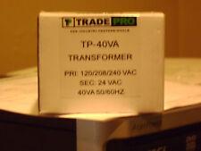 40 Va Transformer pri: 120/208/240 vac  sec: 24vac